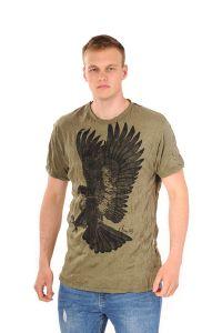 Pánské tričko Sure Orel khaki