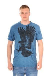 Pánské tričko Sure Orel modré