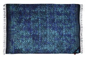 Šátek sarong Kolibřík černo-modrý