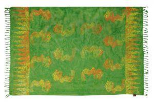 Sarong Drak zelený