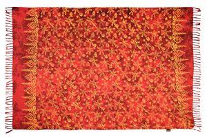 Sarong Moře červený