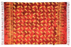 Sarong Gekon ohnivě červený