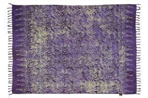 Šátek sarong Džungle fialový