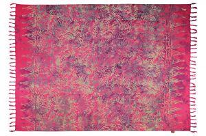 Šátek sarong Džungle fuchsiový