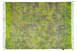 Šátek sarong Džungle zelený