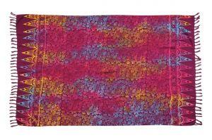 Šátek sarong Kolibřík fialový