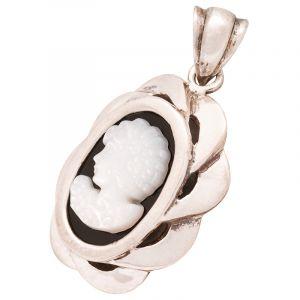 Stříbrný přívěsek kamej perleť Ag 3,3 g