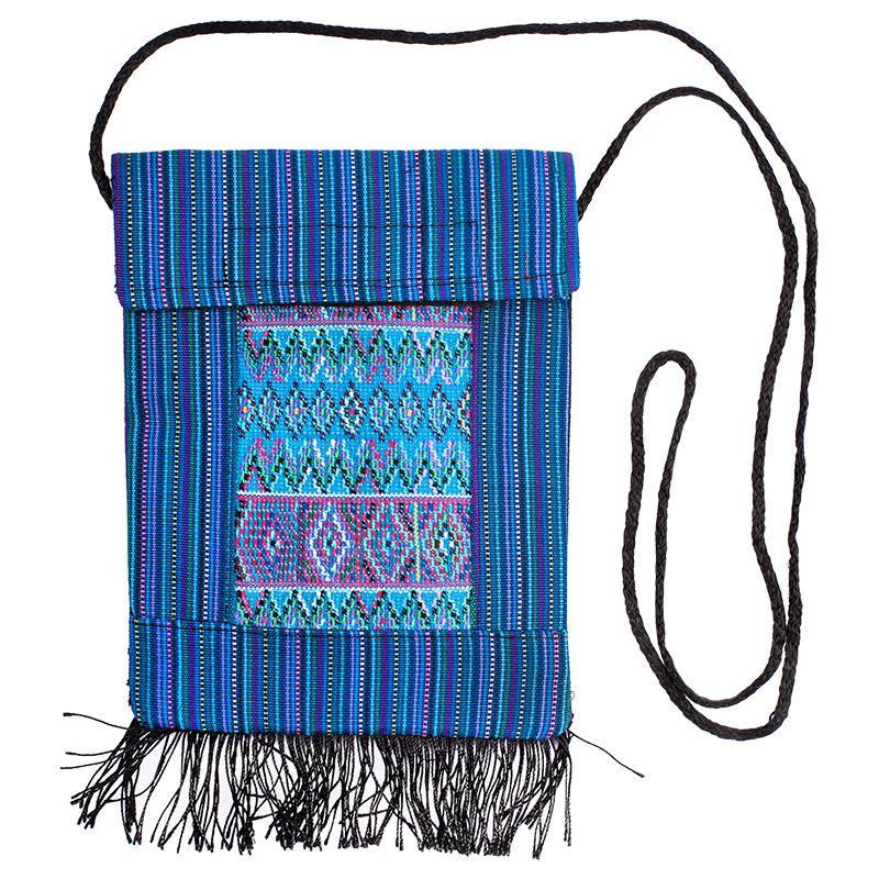 Bavlněná kapsa na krk vyšívaná tkaná 16 x 20 cm C | SoNo spol. s r.o.