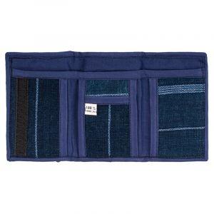 Bavlněná peněženka vyšívaná 12 x 8 cm D