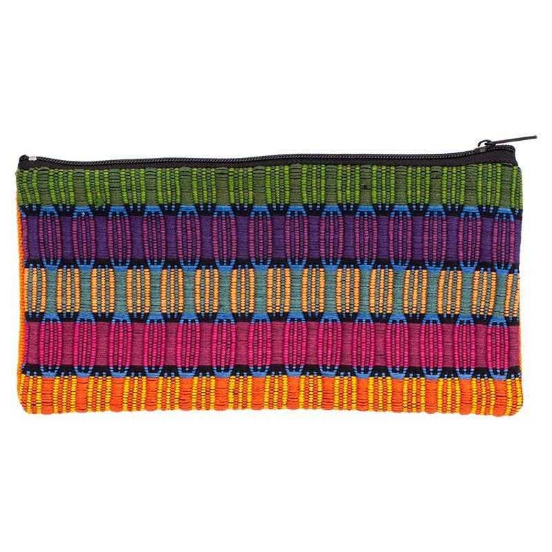 Bavlněné pouzdro na drobnosti tkané 20 x 10 cm A