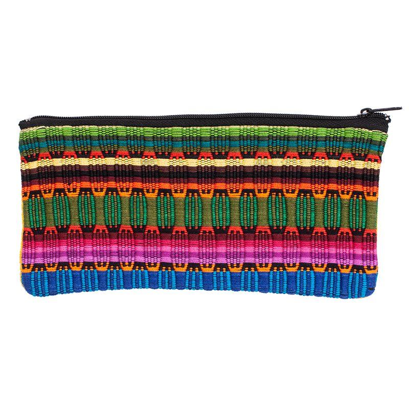 Bavlněné pouzdro na drobnosti tkané 20 x 10 cm D