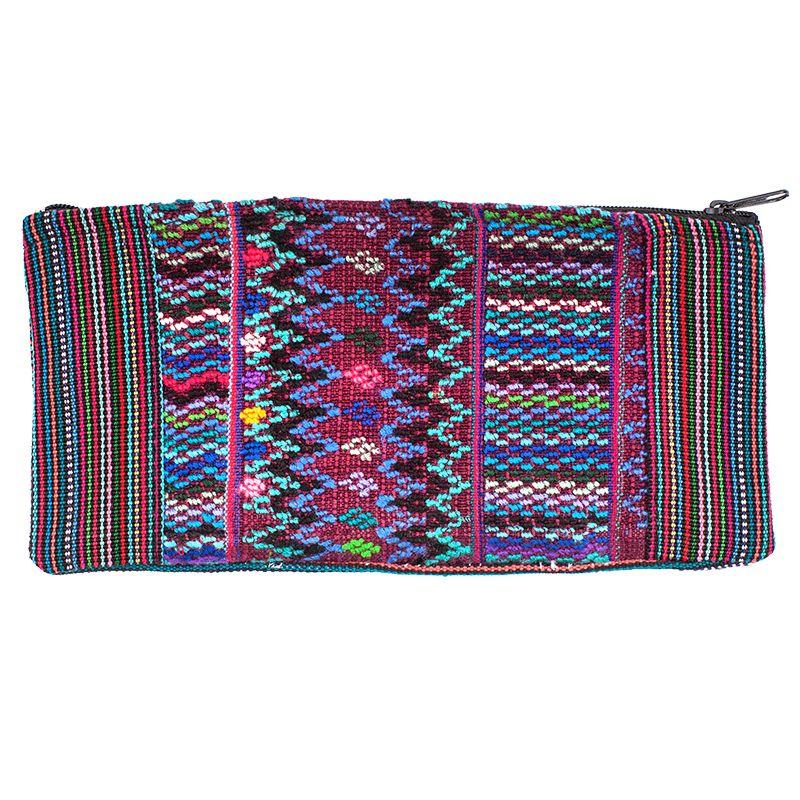 Bavlněné pouzdro na drobnosti vyšívané tkané 20 x 10 cm A | SoNo spol. s r.o.