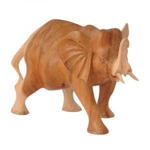 Soška Slon dřevo 33 cm
