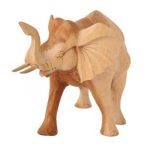 Soška Slon dřevo ¨33 cm