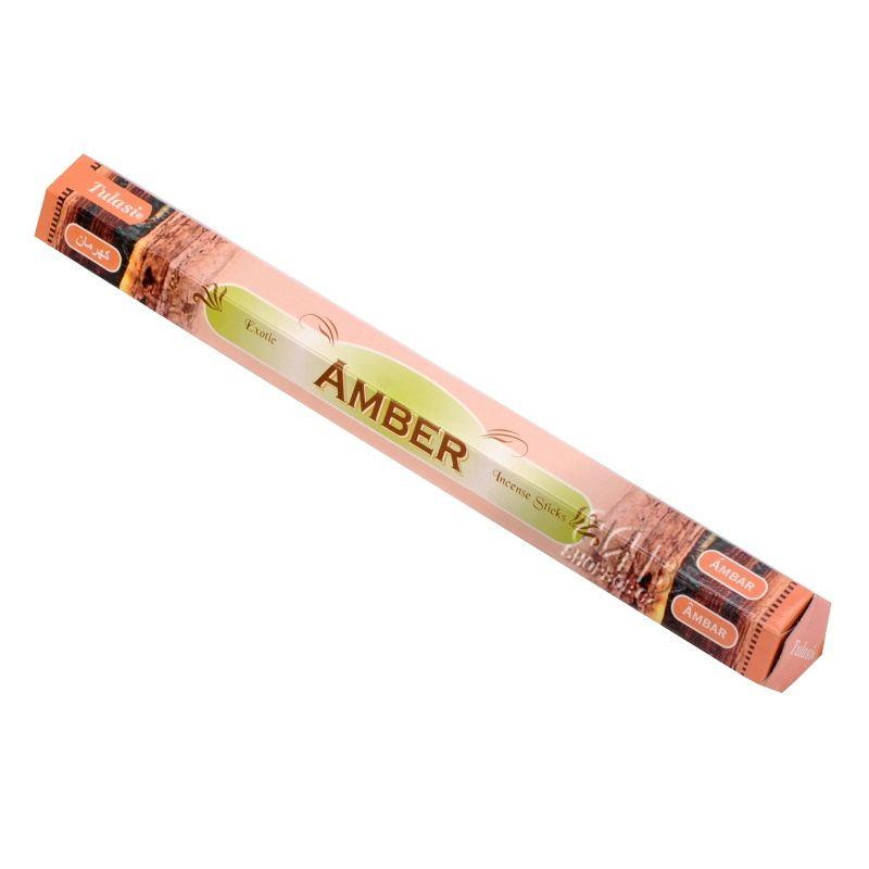 Tulasi Amber indické vonné tyčinky 20 ks