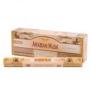 Tulasi Arabian musk - Arabský mošus indické vonné tyčinky 20 ks