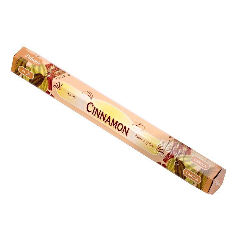 Tulasi Cinnamon - Skořice indické vonné tyčinky 20 ks | SoNo spol. s r.o.