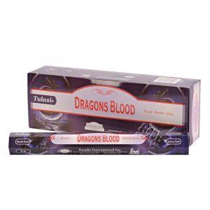 Tulasi Dragon's Blood indické vonné tyčinky 20 ks
