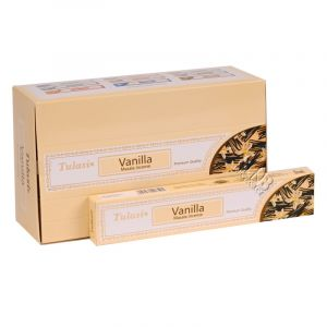 Tulasi Masala Vanilla indické vonné tyčinky 15 g