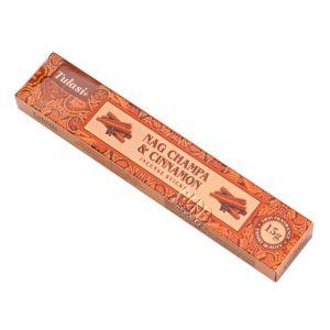 Vonné tyčinky Tulasi Nag Champa Cinnamon