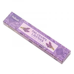 Vonné tyčinky Tulasi Nag Champa Lavender
