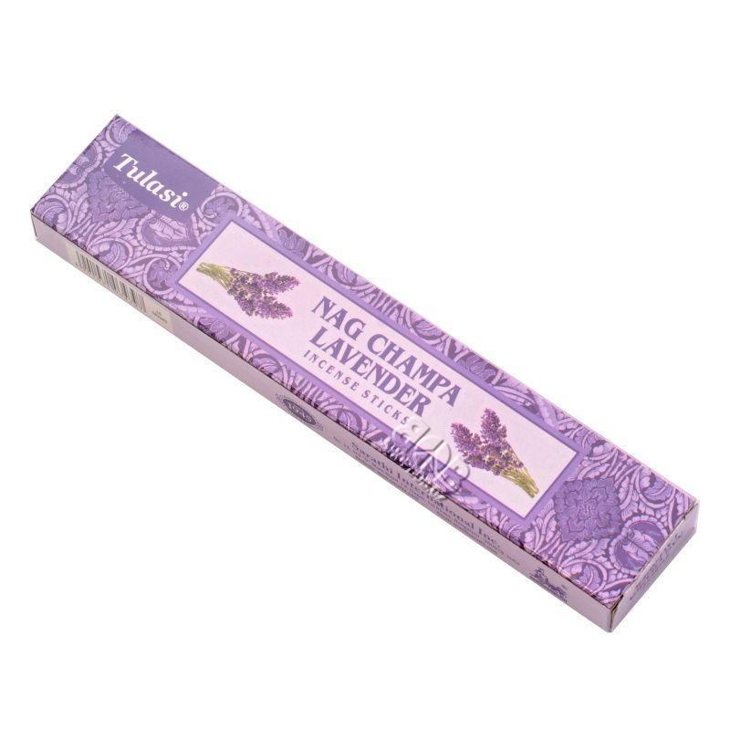 Tulasi Nag Champa Lavender indické vonné tyčinky 15 g | SoNo spol. s r.o.