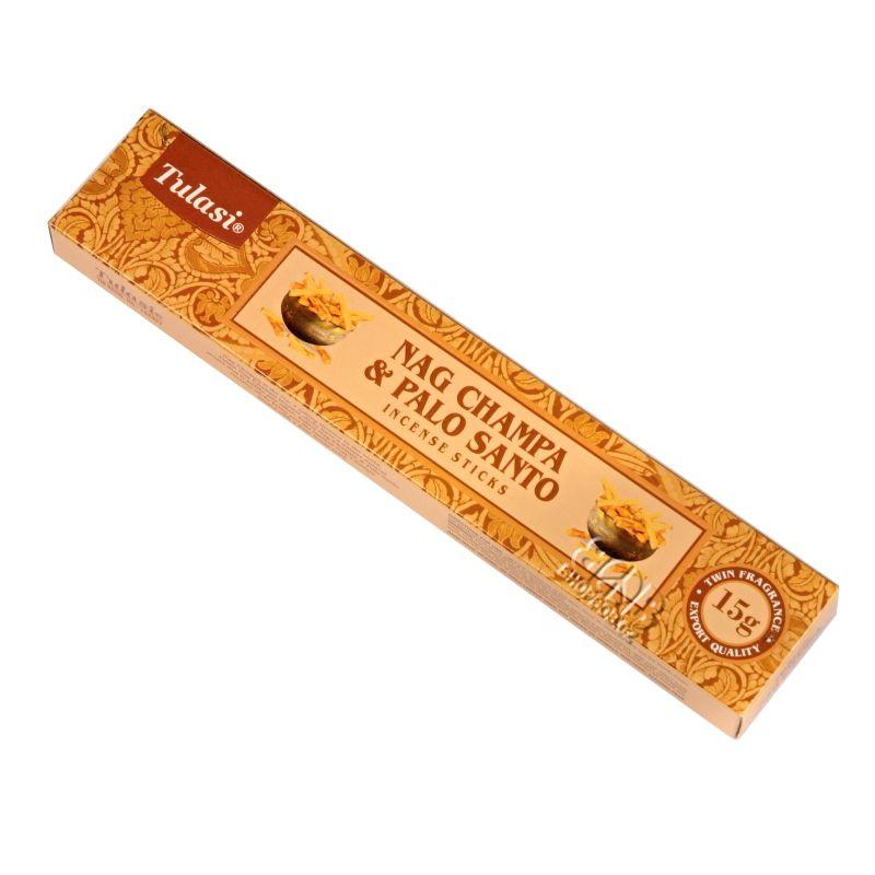 Tulasi Nag Champa Palo Santo - Svaté dřevo indické vonné tyčinky 15 g | SoNo spol. s r.o.