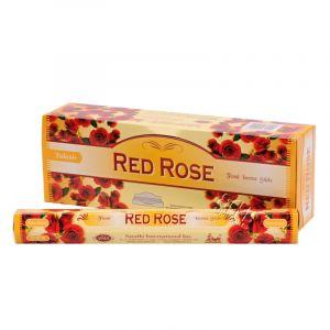 Tulasi Red rose - Červená růže indické vonné tyčinky 20 ks