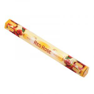 Vonné tyčinky Tulasi Red rose - Červená růže