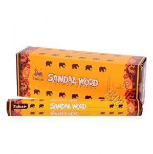 Tulasi Sandal wood - Santalové dřevo indické vonné tyčinky 20 ks