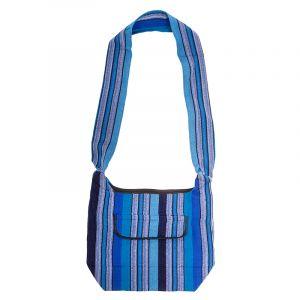 Taška přes rameno tkaná 25 x 35 cm B