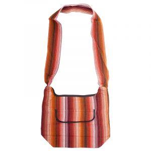 Taška přes rameno tkaná 25 x 35 cm C