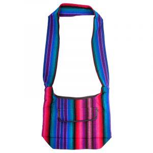 Taška přes rameno tkaná 25 x 35 cm D