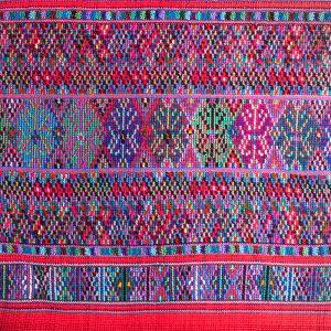 Bavlněná taška vyšívaná barevná 32 x 32 cm dvě uši B | SoNo spol. s r.o.