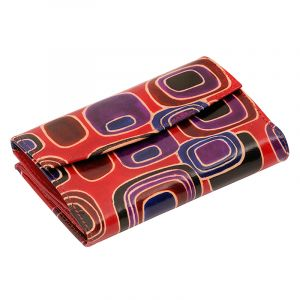Kožená peněženka Envelope Colours červená