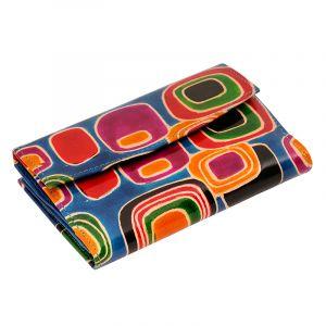 Kožená peněženka Envelope Colours modrá