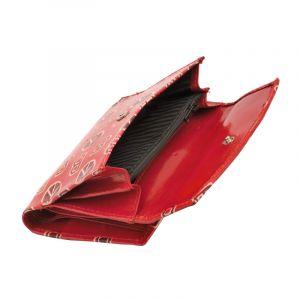 Dámská kožená peněženka Envelope BOB červená