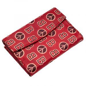 Kožená peněženka Envelope BOB červená
