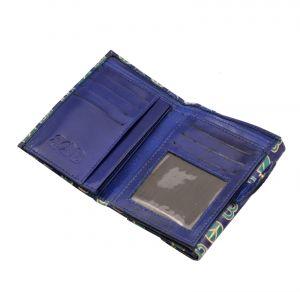 Dámská kožená peněženka Envelope BOB modrá | SoNo spol. s r.o.