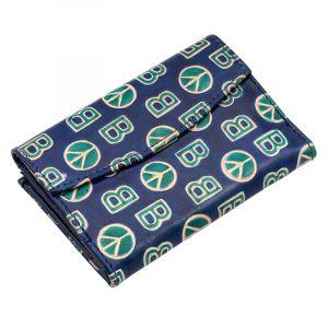 Kožená peněženka Envelope BOB modrá