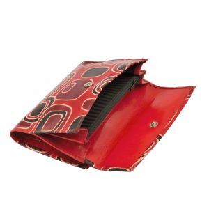 Dámská kožená peněženka Envelope Colours červená | SoNo spol. s r.o.