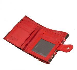 Dámská kožená peněženka Envelope Colours červená