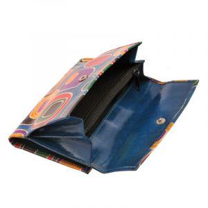 Dámská kožená peněženka Envelope Colours modrá | SoNo spol. s r.o.