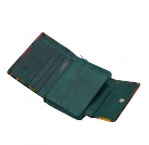 Dámská kožená peněženka Easy Vídeň zelená
