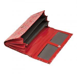 Dámská kožená peněženka Woman BOB červená