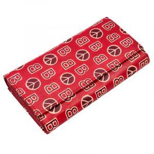Kožená peněženka Woman BOB červená