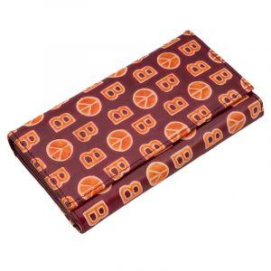 Dámská kožená peněženka Woman BOB kaštanová