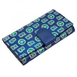 Dámská kožená peněženka Woman BOB modrá | SoNo spol. s r.o.
