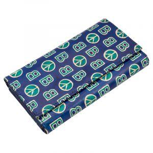 Kožená peněženka Woman BOB modrá