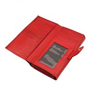 Dámská kožená peněženka Woman London červená